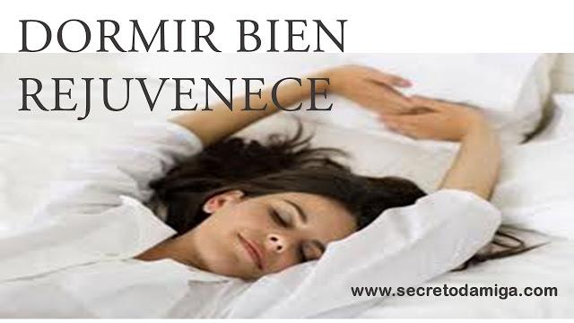 Dormir bien rejuvenece secretodamiga - Como descansar mejor ...